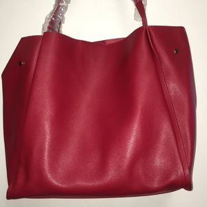 Forever 21 Red Hand Bag NWT